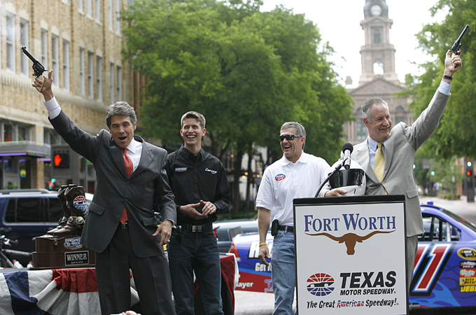City and State to Issue Proclamations to Texas Motor Speedway