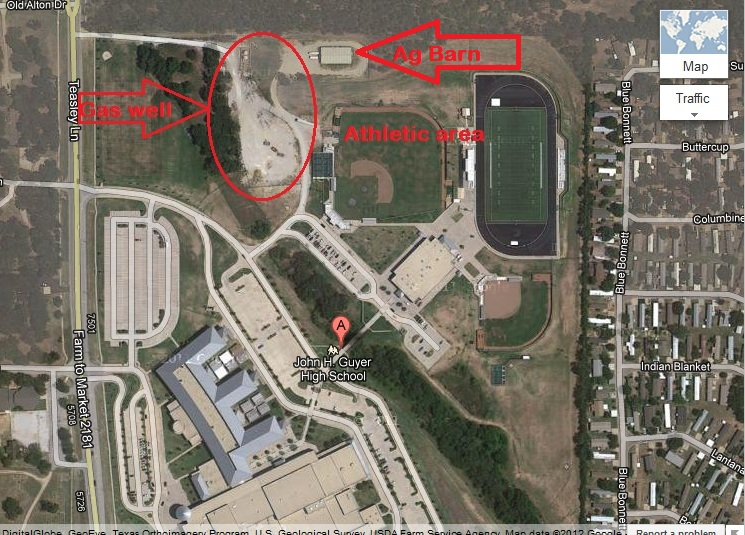 Map Of Texas High Schools.Middle Class Schools In Denton And Tarrant Get Drilled And Fracked