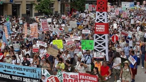 Photo: 5000 Marchers to Stop the Frack Attack