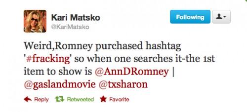 Romneyinvestedinfracking
