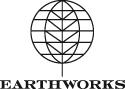 earthworks logo - black on white 125