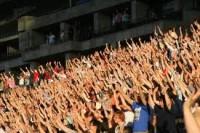 Raise you hand crowd