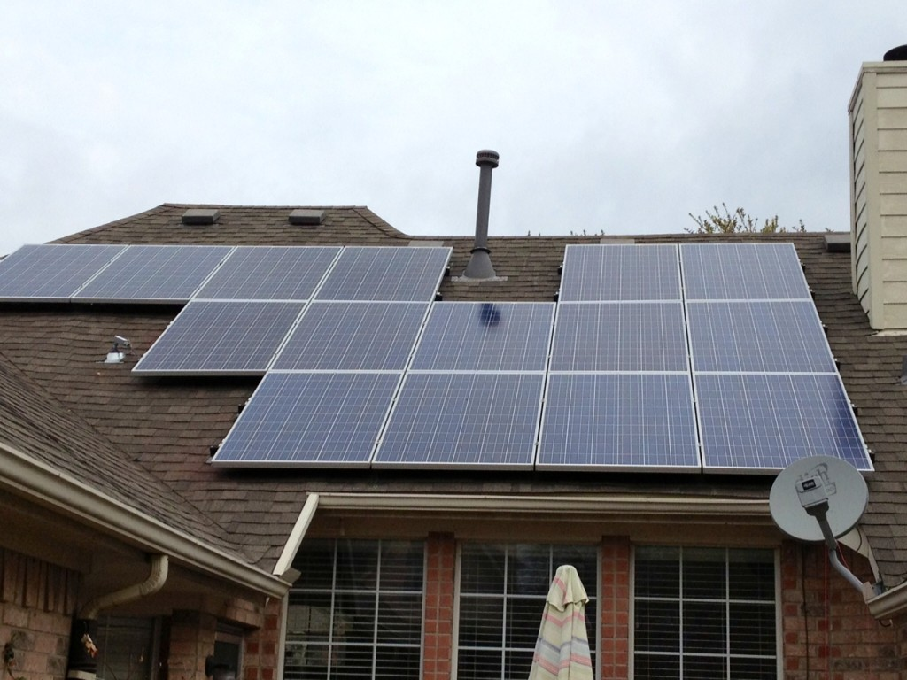 Lookie My New Solar Panels Are Up Texas Sharon S Bluedaze