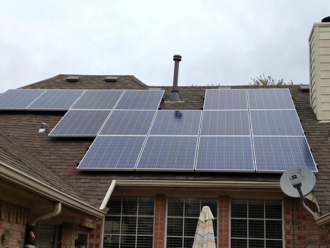 Lookie My New Solar Panels Are Up Texas Sharon S Bluedaze
