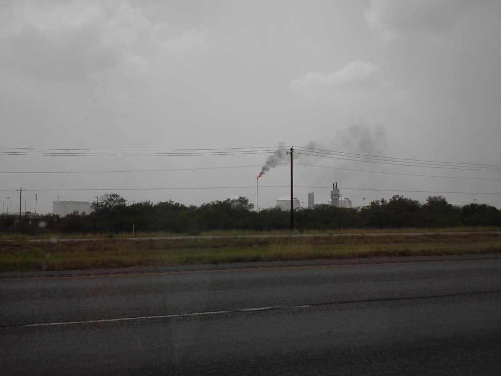 Photo: Flare in Eagle Ford Shale