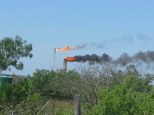 PXP Eagle Ford flare continues to pollute Karnes County