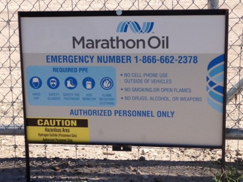 Marathon_Impoundment_Sign