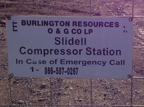 Video: Burlington Resources venting VOCs at Slidell Compressor Station in Wise County