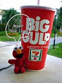 Big Gulp Elmo