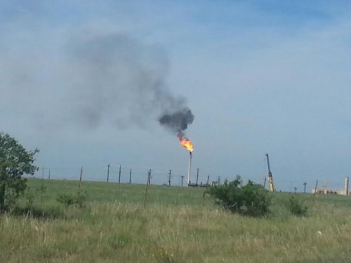 Flare pictures from Karnes County