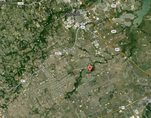 M3.4 frackquake in North Texas near Mansfield