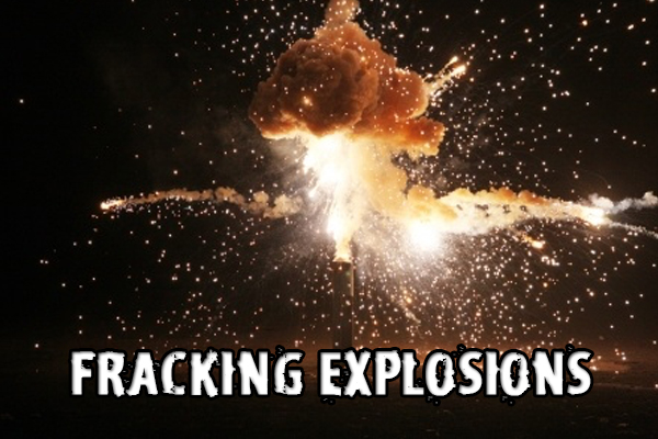 What could possibly go wrong with armor piercing fracking explosions?