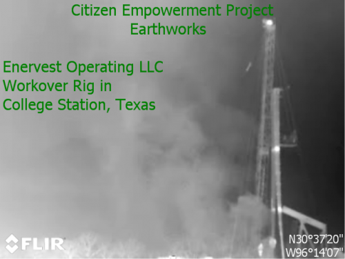 fracking air pollution in aggie lane college station