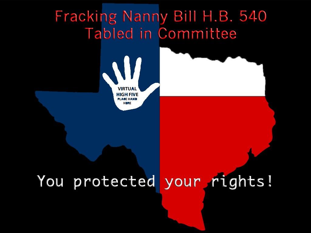 Fracking Nanny Bill