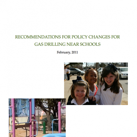 Gas Drilling Near Schools
