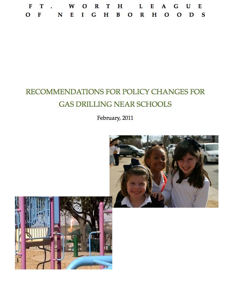 Gas Drilling Near Schools