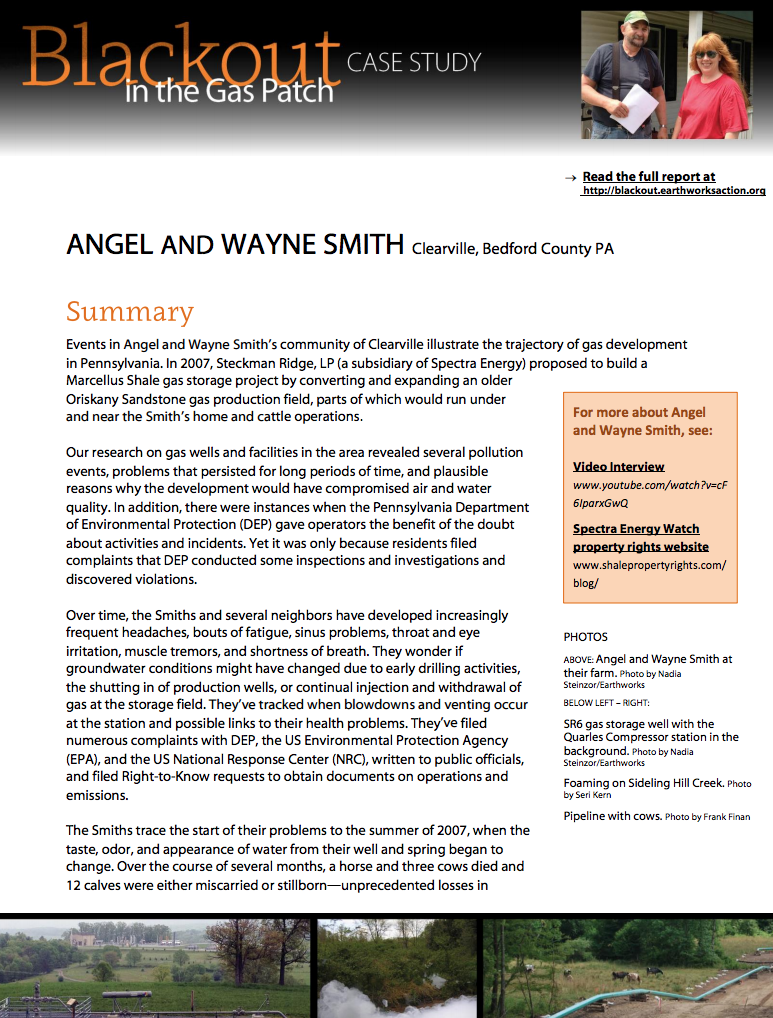 Blackout Case Study 4 – Angel and Wayne Smith