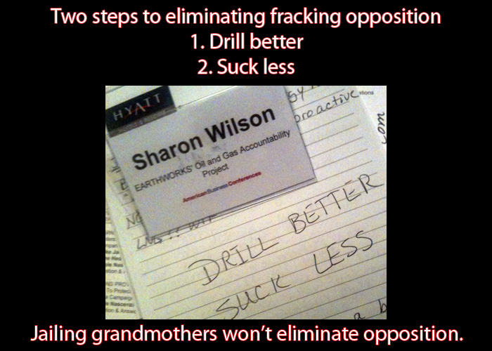 Fracking industry amps up psyops and intimidation to stop fracking opposition.