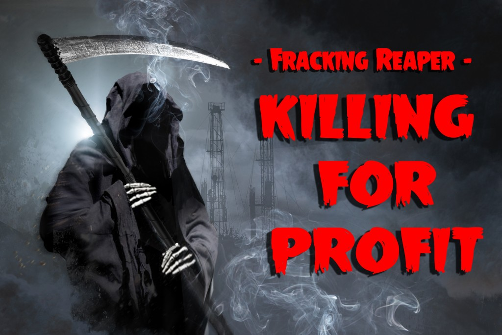 Get smart before the Fracking Reaper gets you