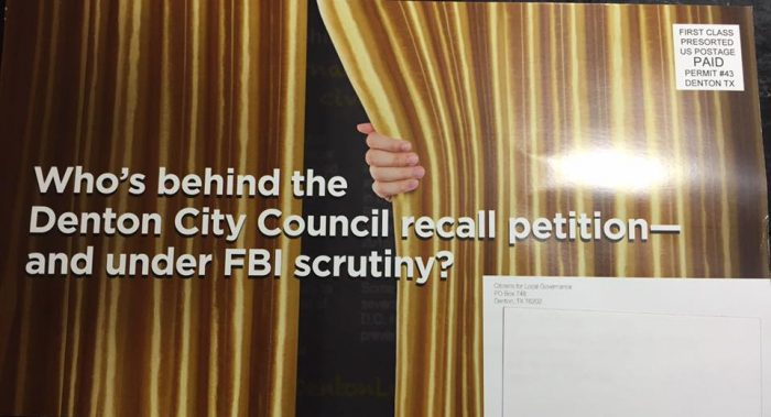 Updated: FBI Scrutiny in Denton?