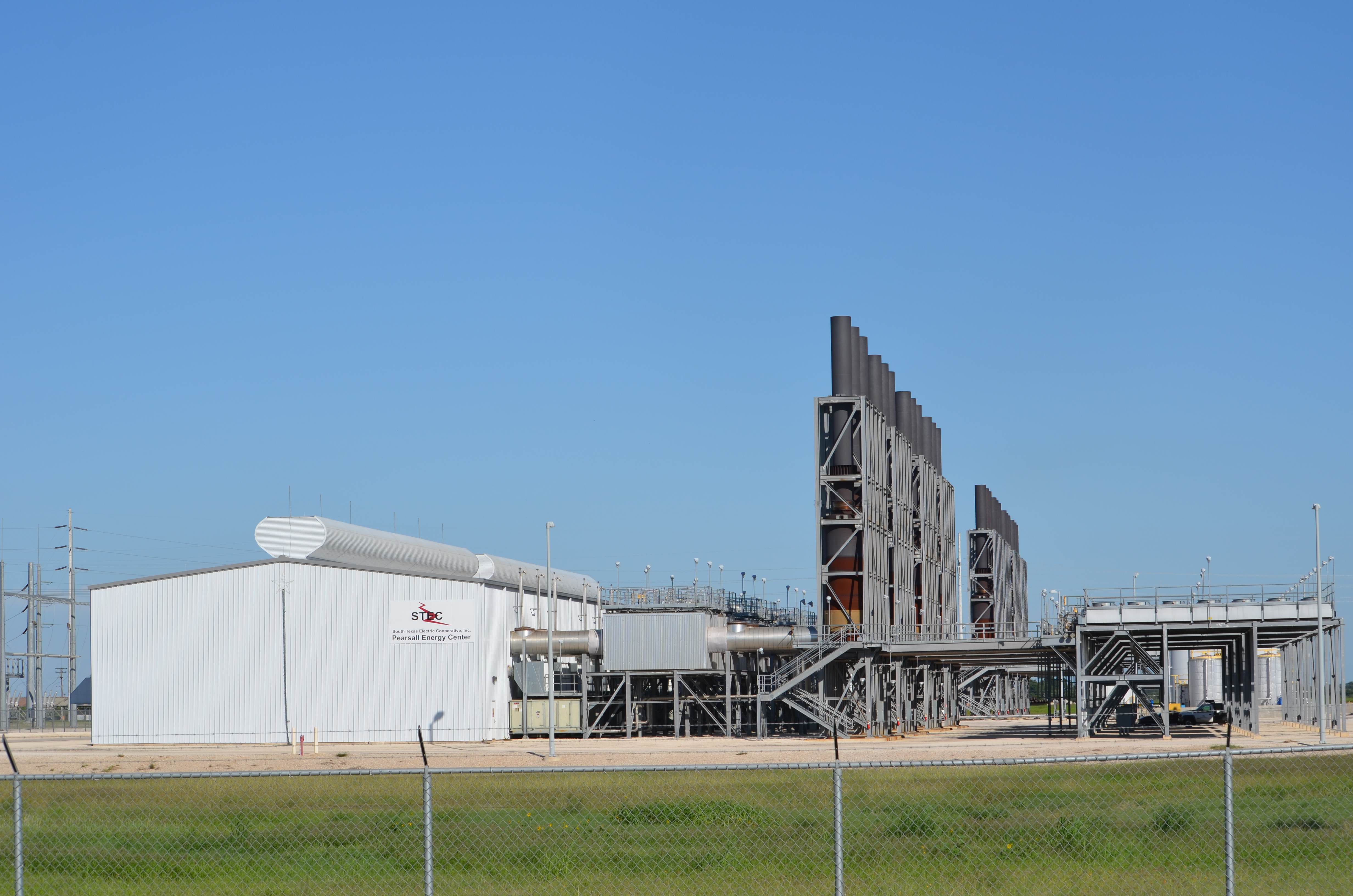Pearsall Natural Gas Power Plant