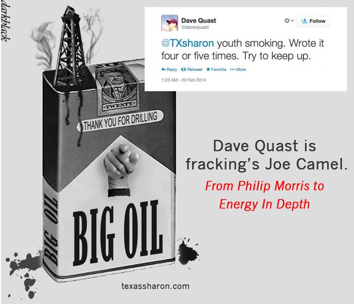 Dave Quast teen smoking