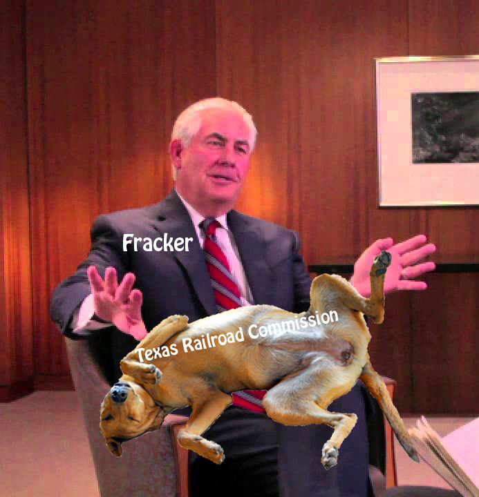 Texas Railroad Commission is industry lapdog